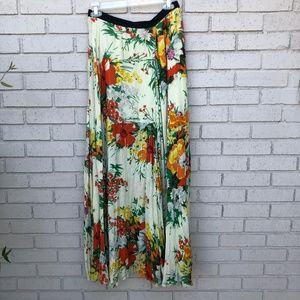 EUC Free People Boho Floral Maxi Skirt - Medium